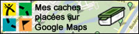 Mes caches placées